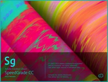 Adobe SpeedGrade CC 2015.1