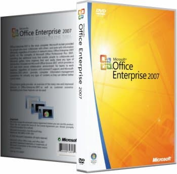 Microsoft Office 2007 SP3 Enterprise + Visio Pro + Project Pro / Standard 12.0.6784.5000