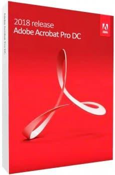 Adobe Acrobat Pro DC 2018.011.20058