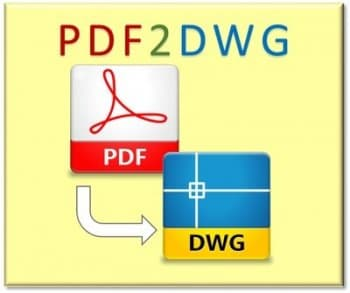 PDF to DWG Converter 12.0