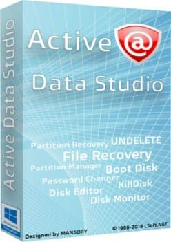 Active Data Studio 12.0.3 + Portable + BootCD