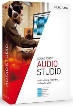 MAGIX Sound Forge Audio Studio 12.6.0.352
