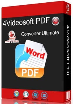 4Videosoft PDF Converter Ultimate 3.3.20 + Rus