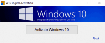 Windows 10 Digital Activation Program v1.3.4
