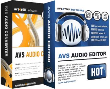 AVS Audio Editor 9.0.1.530 / AVS Audio Converter 9.0.1.590