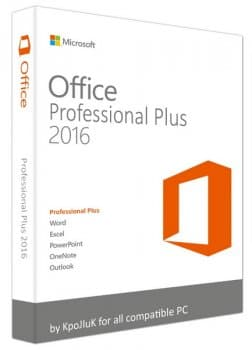 Microsoft Office 2016 Professional Plus + Visio Pro + Project Pro / Standard 16.0.4744.1000