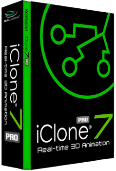 Reallusion iClone Pro 7.4.2419.1 + Resource Pack