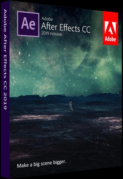 Adobe After Effects CC 2019 16.0.1.48 RePack by KpoJIuK [Multi/Ru]