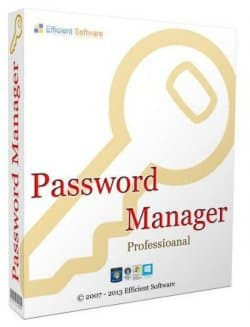 Efficient Password Manager Pro 5.50 Build 543