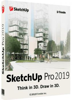 SketchUp Pro 2019 19.1.174 + PluginsPack
