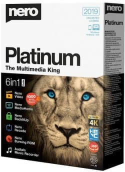 Nero Platinum 2019 Suite 20.0.06500 + Content Pack